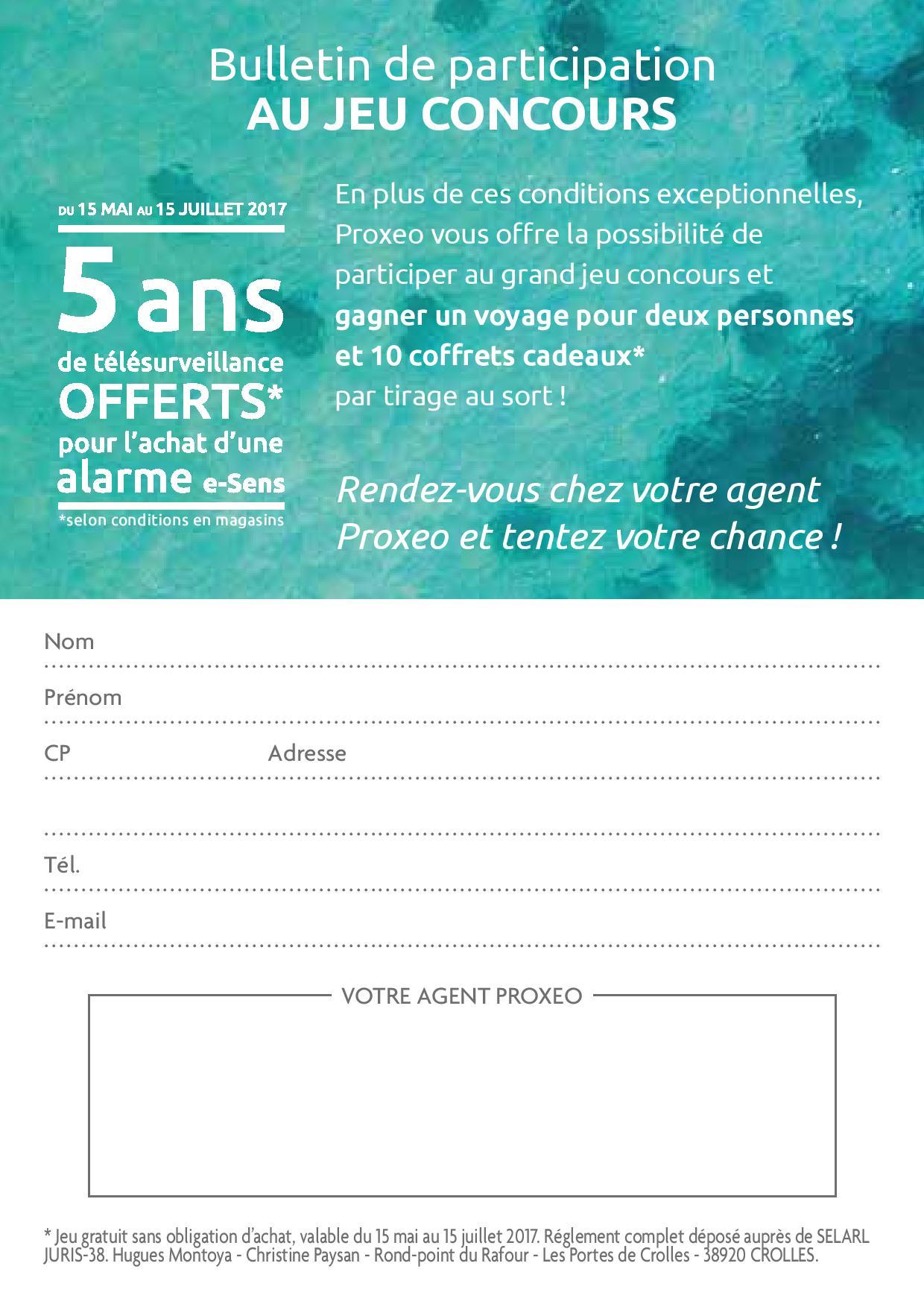 Grand Jeu Concours Proxeo Alarme Sans Fil La Securite De Votre Maison Et De Votre Entreprise Dans Le Jura Pres De Dole